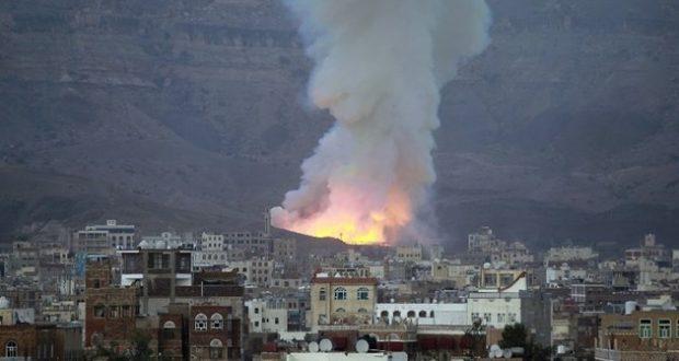 استشهاد 3 أطفال وامرأة من عائلة واحدة في غارة على صنعاء