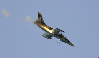 الجيش السوري: التحالف يسقط طائرة في الرصافة بريف الرقة وفقدان طيارها