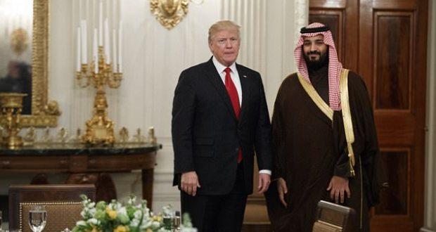 ترامب وبن سلمان يتفقان على حل النزاع مع قطر
