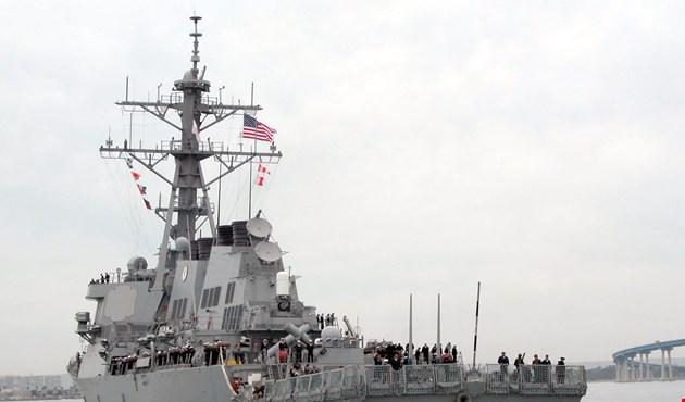 إصابة 3 وفقدان 7 أشخاص في تصادم مدمرة أميركية بسفينة تجارية قبالة اليابان