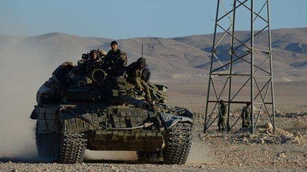 الجيش السوري يستعيد عدد من النقاط والتلال المشرفة على منطقة حميمة جنوب شرق تدمر