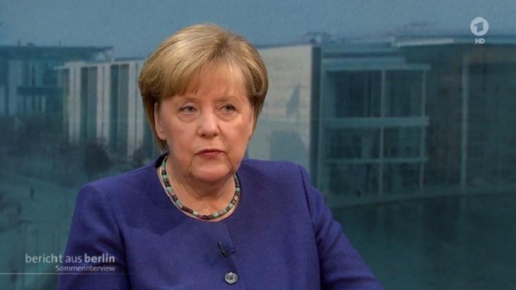 ميركل لا تعفي نفسها من المسؤولية عن أعمال الشغب في هامبورغ