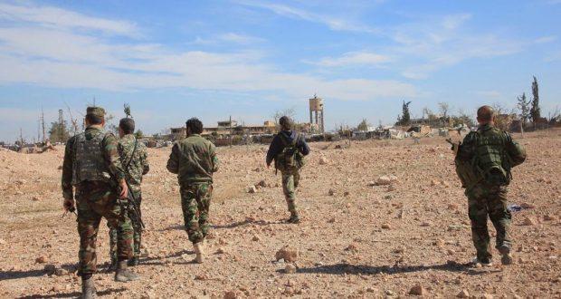 نقاط استراتيجية بقبضة الجيش السوري بريف حمص