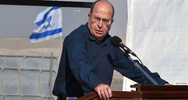 """يعالون: حلم """"إسرائيل الكبرى"""" إنتهى"""