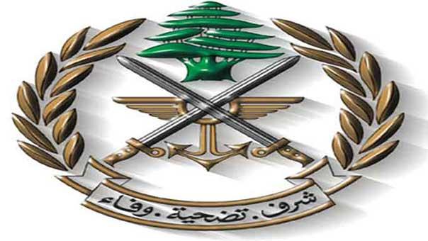 سلسلة انجازات أمنية لمخابرات الجيش تضمنت اعتقال وتسلم مطلوبين بجرائم ارهاب