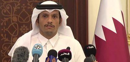 الخارجية القطرية:أمريكا ترغب بإنهاء الأزمة الخليجية بطريقة سلمية