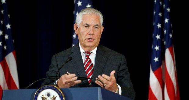 تيلرسون: الولايات المتحدة ستواصل البحث عن حل سلمي مع كوريا الشمالية