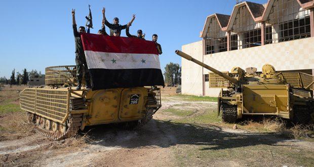 الجيش السوري يوسع نفوذه شرق حماة