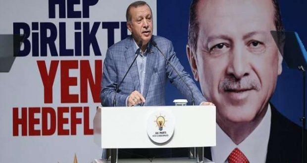"""أردوغان لإجراء تغييرات في كوادر """"العدالة والتنمية"""""""
