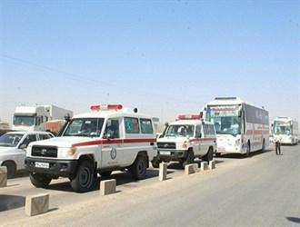 نقل جرحى حادث هرات الإرهابي الى المستشفيات الايرانية