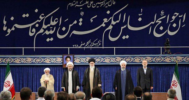 الإمام الخامنئي يصدق على تولي الشيخ روحاني رئاسة إيران لفترة ثانية