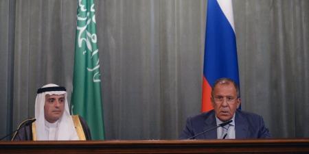لافروف والجبير يبحثان الوضع في الشرق الأوسط والعلاقات الروسية السعودية