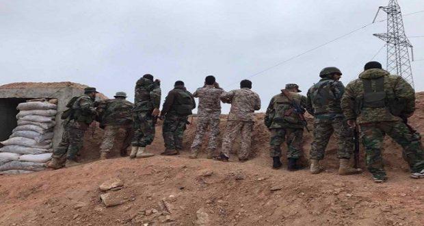 """الجيش السوري يستعيد مناطق كانت تحت سيطرة """"داعش"""""""