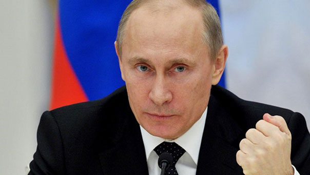 بوتين:لتشكيل جبهة واسعة لمحاربة الإرهاب على أسس القوانين الدولية
