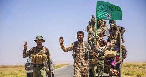 الحشد الشعبي يعلن تحرير ناحية الزاب شمال غرب الحويجة بالكامل