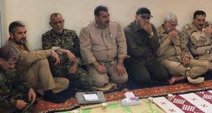 أبو مهدي المهندس يجتمع مع قيادات تأمين الحدود العراقية