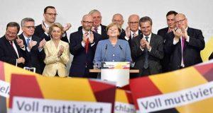 حزب أنجيلا ميركل يفوز في الانتخابات التشريعية الألمانية