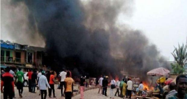 مقتل خمسة مصلين بتفجير نفذته انتحارية داخل مسجد بنيجيريا