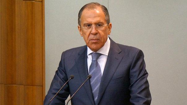 لافروف: سياسة المؤامرة والتدخلات الخارجية في سوريا وليبيا والعراق أسفرت عن تنامي قوة الإرهاب