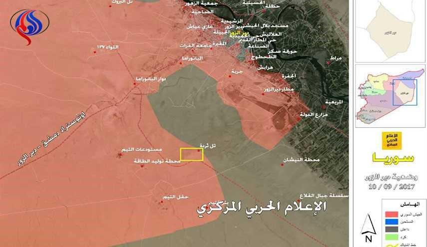 """""""السباق"""" في دير الزور…من يصل أولا إلى الحدود العراقية"""