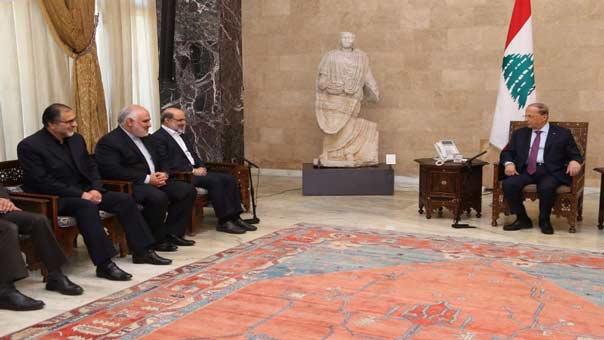 الرئيس عون يشيد بمساعي إيران للوصول إلى حل سياسي للأزمة السورية