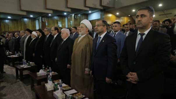 قادة العراق يشددون على وحدة البلاد ورفض النزعات الانفصالية