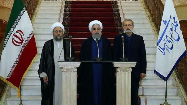 روحاني: سهم الاستكبار أخطأ الهدف ولم یتمكن من تحقیق النجاح