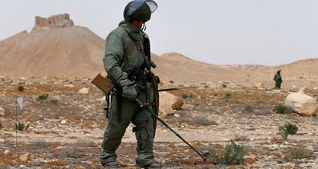 31997 عبوة ناسفة تم إبطالها في سوريا بعد طرد داعش