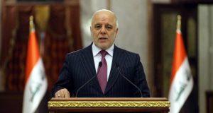 العبادي: مواطنو كردستان جزء من الشعب العراقي