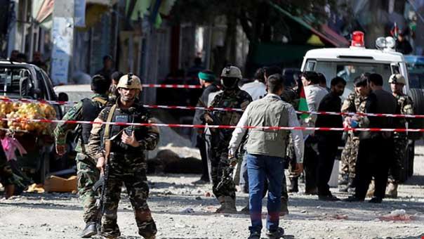 شهداء وجرحى بانفجارين داخل مسجدين في كابول الأفغانية