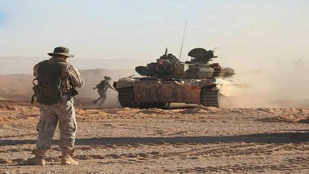 الجيش السوري وحلفاؤه يتقدمون باتجاه البوكمال انطلاقاً من المحطة الثانية