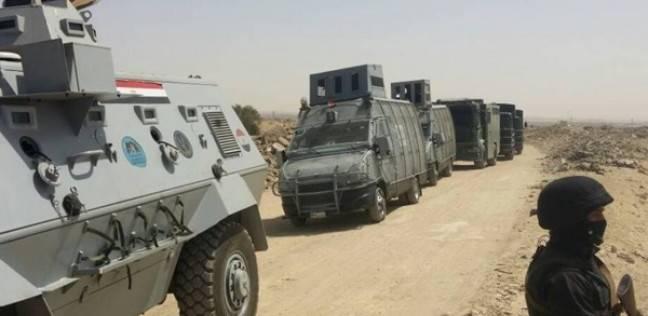 استشهاد عدد من رجال الشرطة المصرية في اشتباكات مع عناصر ارهابية