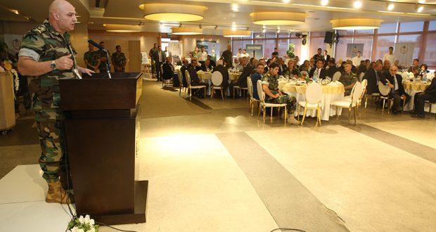 قائد الجيش اللبناني يكرّم وسائل الإعلام المشاركة بتغطية عملية فجر الجرود