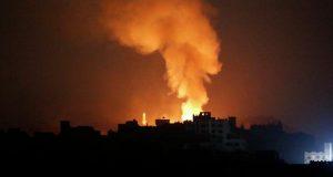 صنعاء: انفجارات عنيفة جراء غارات جوية على سنحان