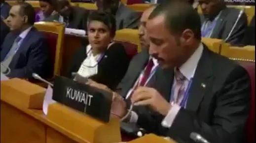 بالفيديو .. هكذا طُرد الوفد 'الإسرائيلي' من مؤتمر الاتحاد البرلماني الدولي