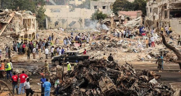 ارتفاع حصيلة اعتداء مقديشو الى 276 قتيلا و300 جريح