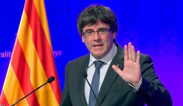 رئيس كتالونيا: سنعلن انفصالنا عن اسبانيا خلال أيام