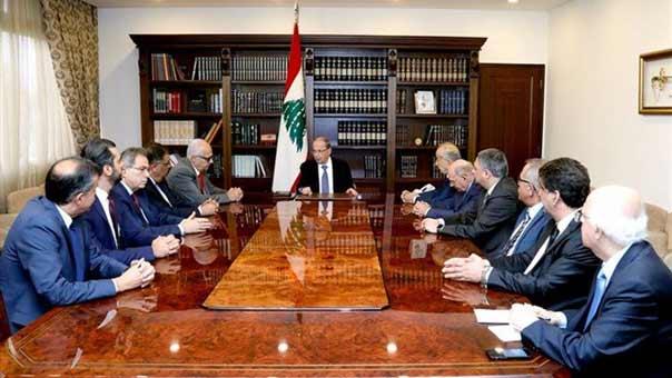 الرئيس عون: لعدم القلق لان الاوضاع الاقتصادية والمالية والامنية ممسوكة
