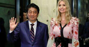 اليابانيات يتجاهلن إيفانكا ترامب! (صور)