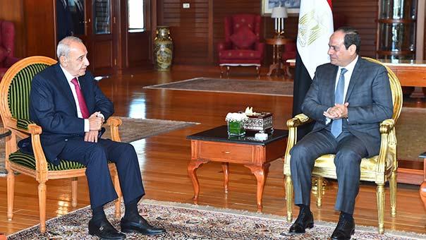 الرئيس بري بعد لقاء السيسي: اللقاء يفتح بابا كبيرا للإنفراج وآمل من أهلنا في لبنان تهدئة النفوس