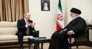 الامام الخامنئي: التحالف الأميركي الداعم للارهابيين في سوريا هزم وتسوية الأزمة بحاجة للتعاون الروسي الإيراني