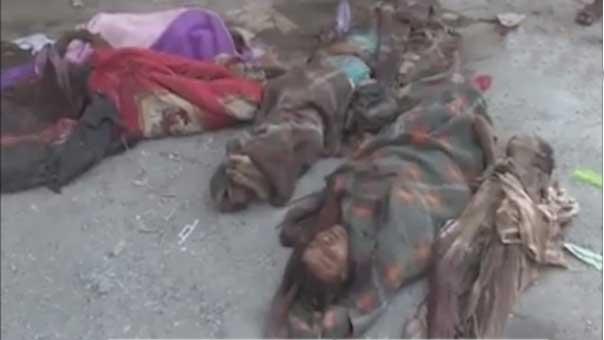 مجزرة سعودية في حجة اليمنية