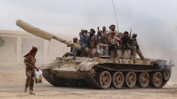 الجيش اليمني واللجان يقضون على العشرات من المرتزقة في نعم وتعز ومأرب