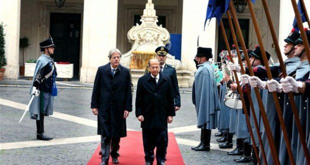 رئيس الجمهورية يختتم زيارته الرسمية لايطاليا بلقاء رئيس الحكومة جنتيلوني