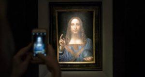 ابن سلمان يشتري لوحة لليوناردو دا فينتشي بسعر قياسي