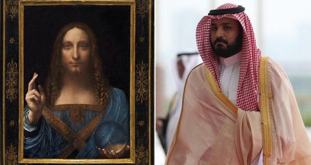 لوحة دافنشي: بن سلمان يشتري وبن زايد يعرض