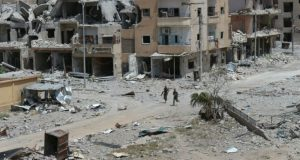 """وزارة الدفاع الروسية: نتائجعمليات """"التحالف الدولي"""" تدمير الرقة وقصف المدنيين"""