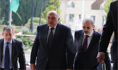 الأردن ومصر يبحثان تداعيات قرار ترامب بشأن القدس