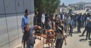 انفجار مزدوج في ساحة الطيران وسط بغداد..26 شهيداً وعشرات الجرحى