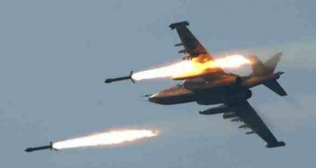 نحو 20 غارة لطيران العدوان السعودي على المحافظات اليمنية